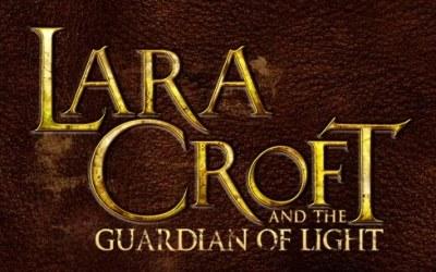 Lara Croft and the Guardian of Light - logo /gram.pl