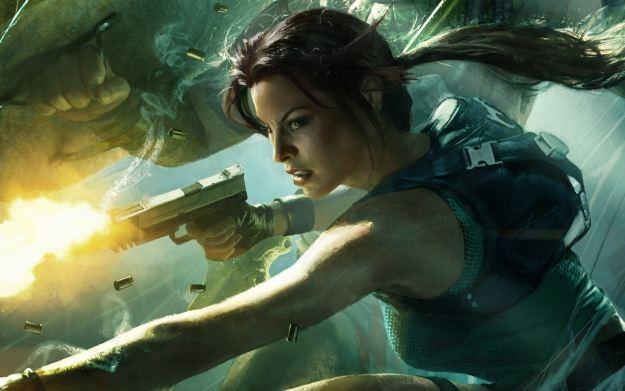 Lara Croft and the Guardian of Light - motyw graficzny /Informacja prasowa