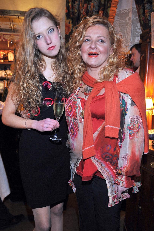 Lara Gessler z mamą /- /AKPA
