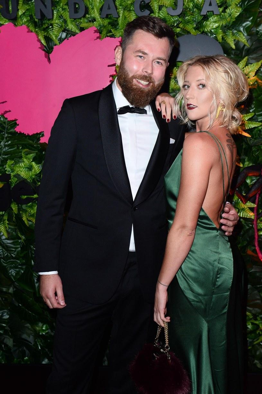 Lara Gessler z mężem, Pawłem Pawłowskim /East News