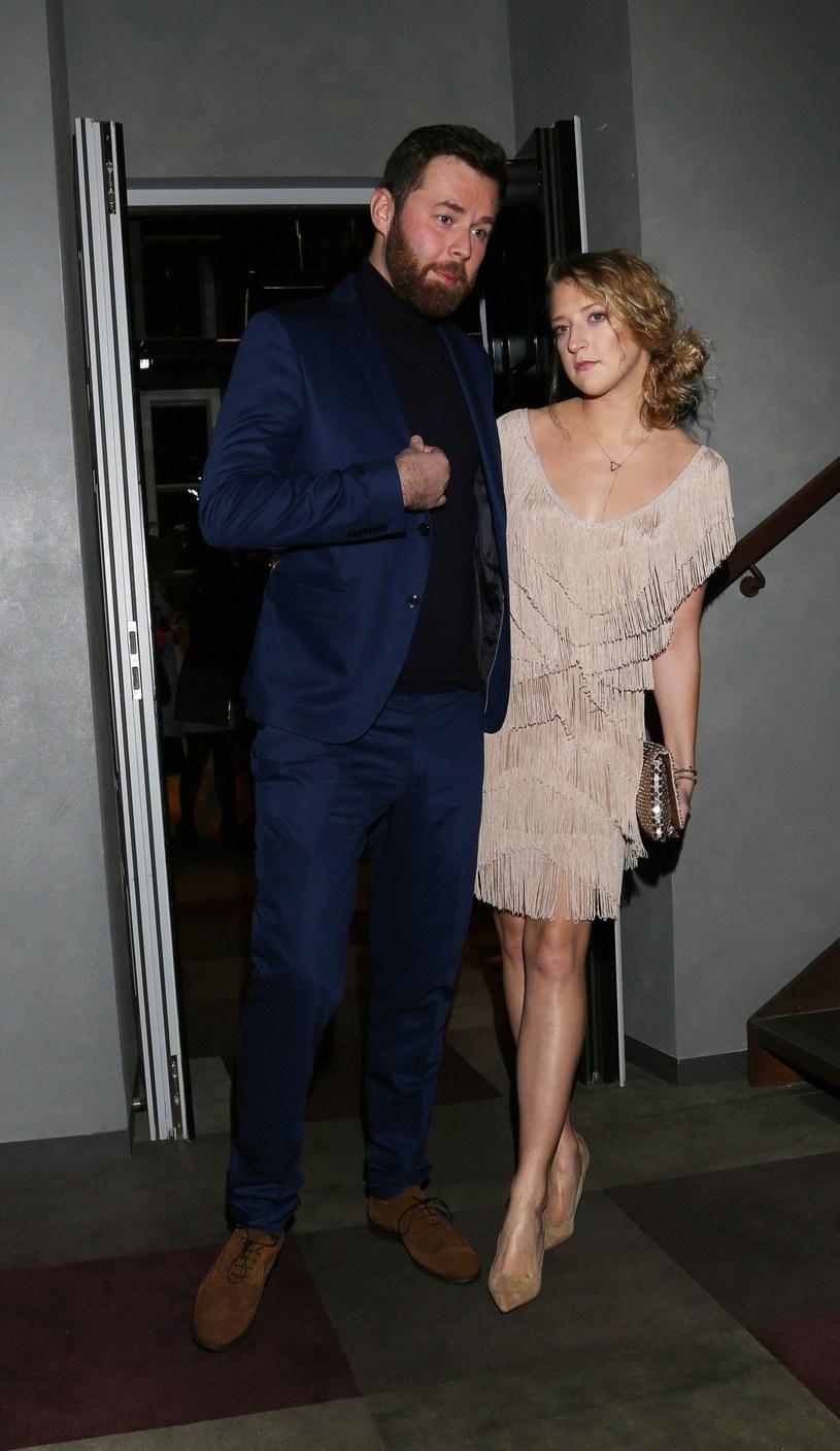 Lara Gessler z mężem Pawłem /- /East News