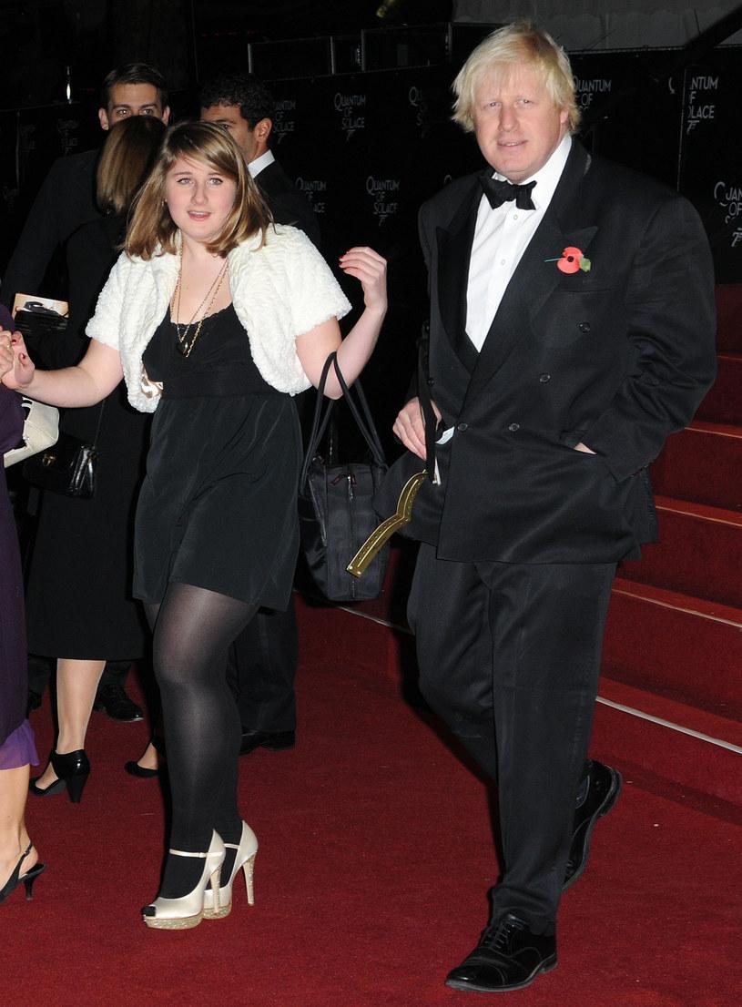 Lara Johnson-Wheeler i jej ojciec Boris Johnson /East News