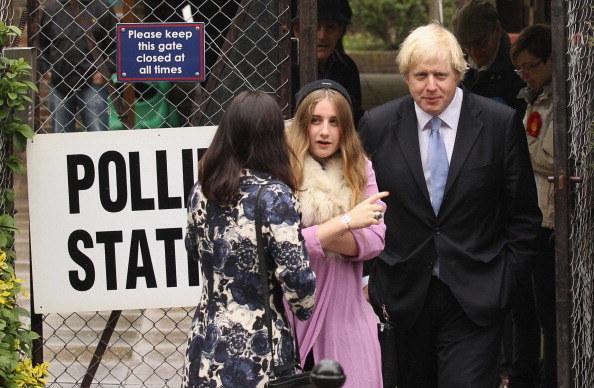 Lara to najstarsza córka brytyjskiego premiera /Oli Scarff /Getty Images