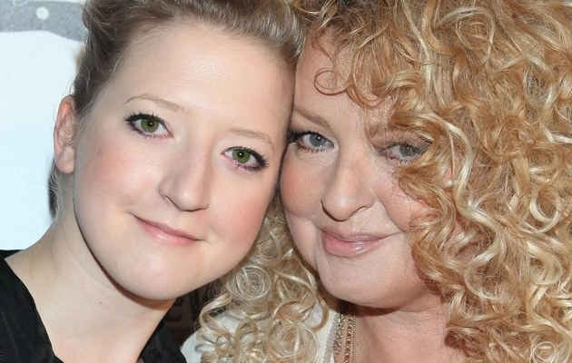 Lara z mamą /- /MWMedia
