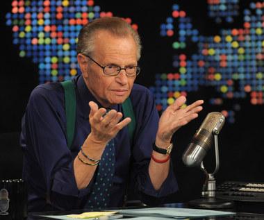 Larry King hospitalizowany z powodu Covid-19