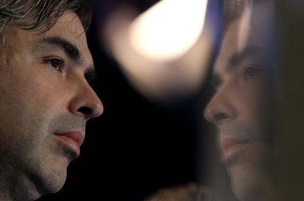 Larry Page jest zwolennikiem tanich tabletów /AFP