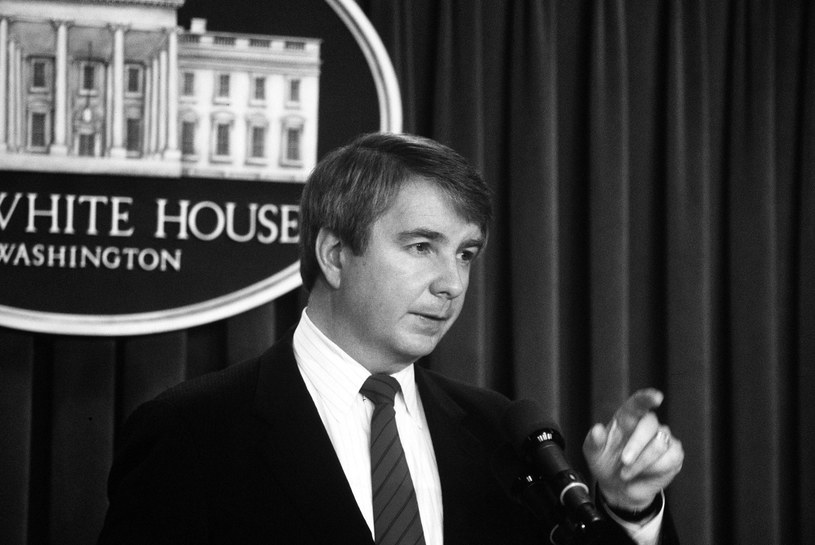 Larry Speakes, 1986 /Agencja FORUM