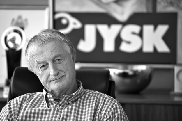 Lars Larsen, założyciel sieci JYSK /EPA