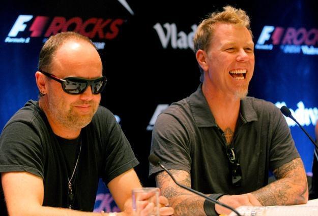 Lars Ulrich i James Hetfield mają smykałkę do interesów - fot. Andrew Caballero /Getty Images/Flash Press Media