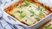 Lasagna z cukinią i dwoma sosami