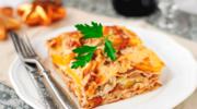 Lasagne z cielęcymi kotlecikami
