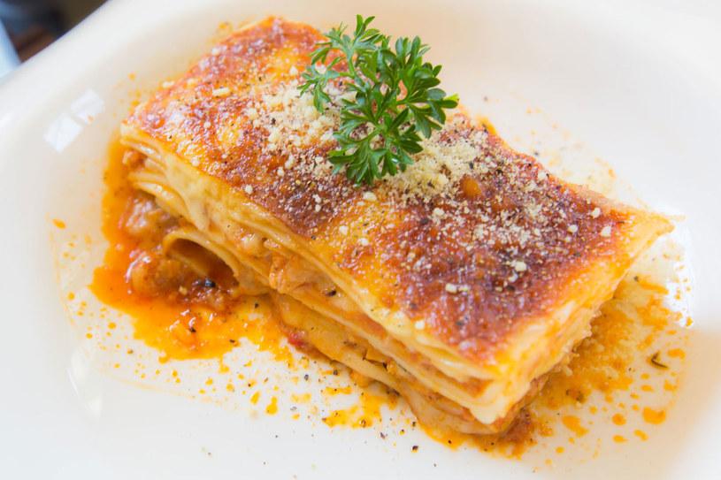 Lasagne z dynią /123RF/PICSEL