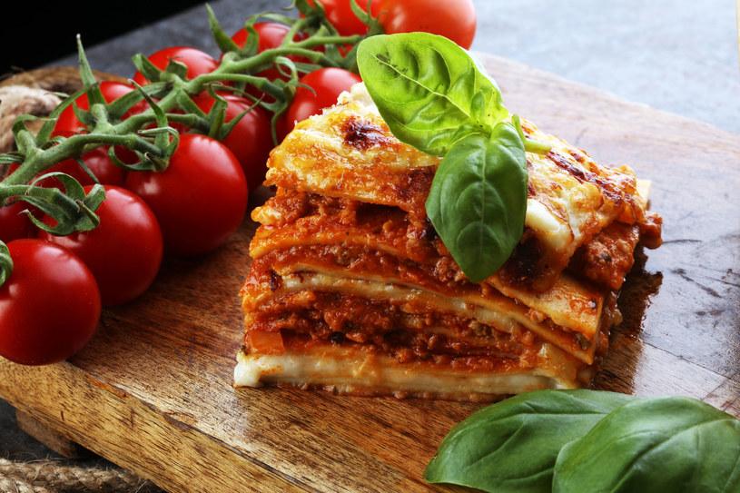 Lasagne z mięsem mielonym /123RF/PICSEL