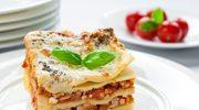 Lasagne z w trzech kolorach