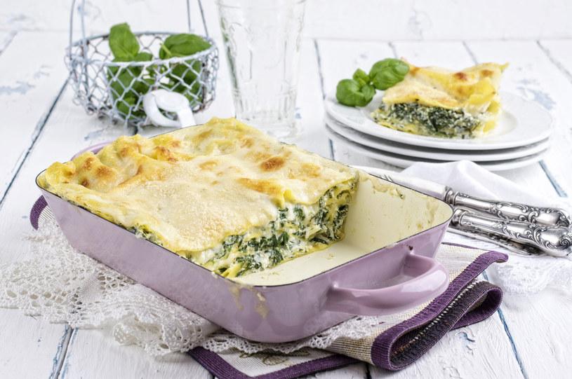 Lasagne ze szpinakiem /123RF/PICSEL
