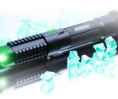 Laser 8000 razy jaśniejszy niż Słońce
