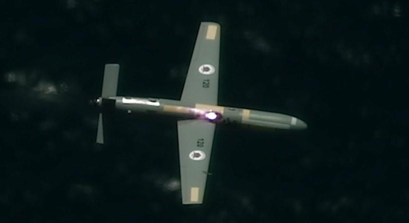 Laser, który strącił drona - Fot. Izraelskie Ministerstwo Obrony /Twitter