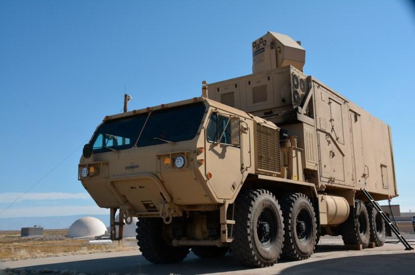 Laserowy system rażenia HEL MD testowany przez US Army. Fot. J. Salazar/US DoD /Defence24