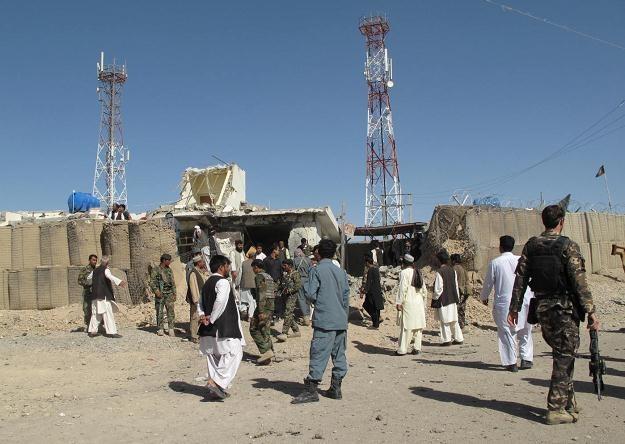 Lashkar Gah, stolica Helmandu, 8 października 2012 /AFP