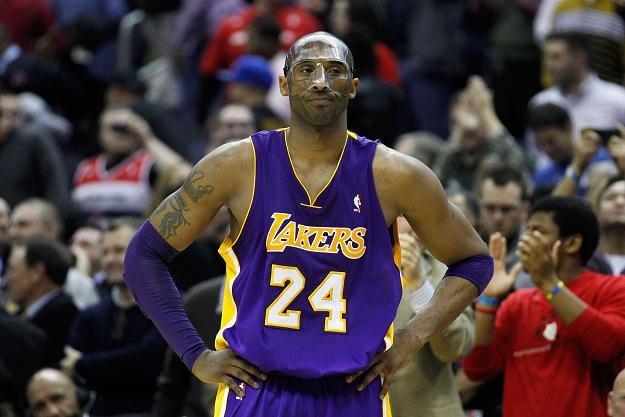 Lata płyną, a Kobe Bryant jest wciąż na topie. /AFP