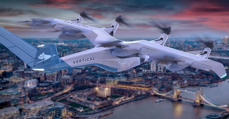 Latająca taksówka od Vertical Aerospace /materiały prasowe