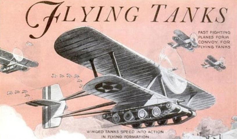 Latający czołg Christiego nie wyszedł poza stadium prototypu /INTERIA.PL/materiały prasowe