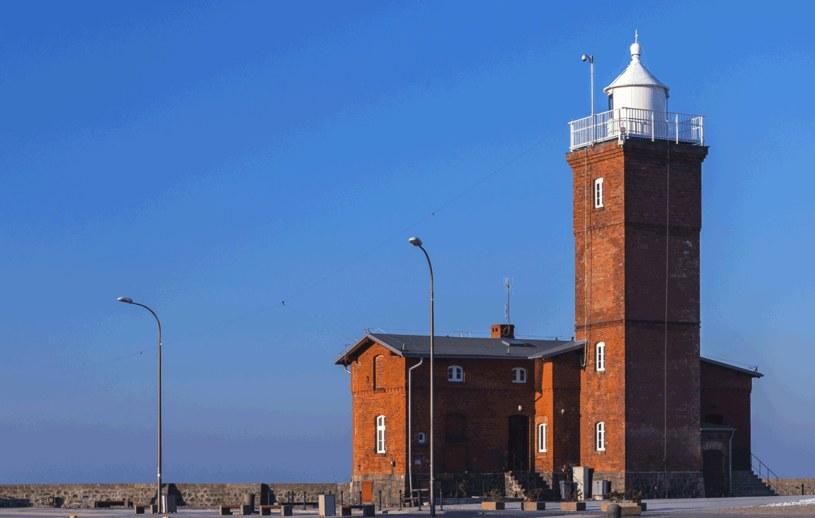 Latarnia morska w Darłowie /123RF/PICSEL