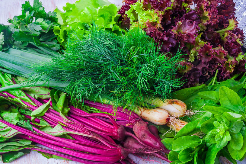 Latem jedz dużo świeżych warzyw. To najprostszy sposób na odkwaszenie organizmu /123RF/PICSEL