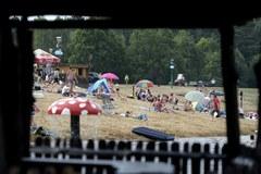 Lato nad zalewem w Radawie