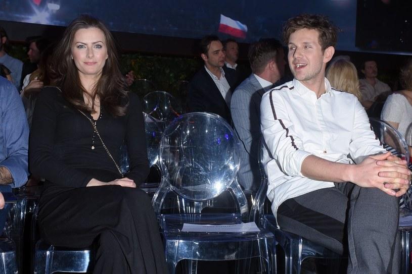 Laura Breszka i Antek Królikowski na ramówce TVP /Andras Szilagyi /MWMedia