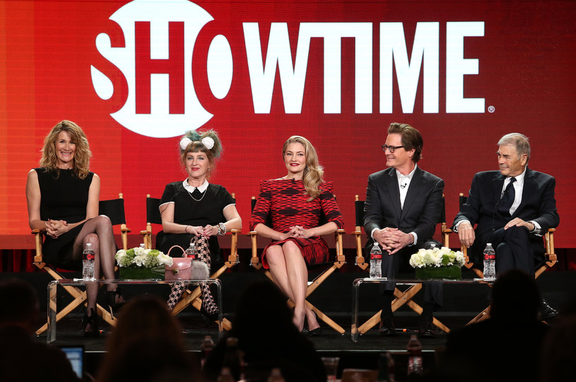 Laura Dern, Kimmy Robertson, Madchen Amick, Kyle MacLachlan i Robert Forster /Frederick M. Brown /Getty Images