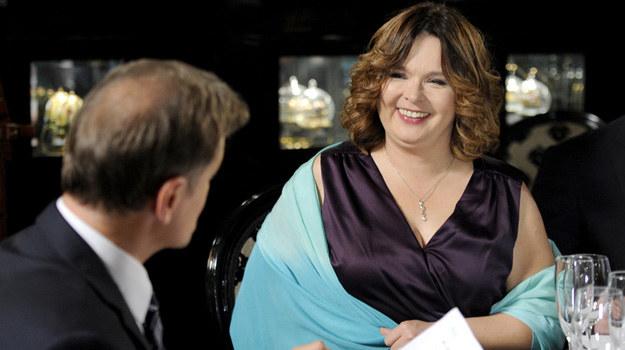 Laura (Edyta Jungowska) wciąż obiecuje sobie, że schudnie. Czy uda się jej zrealizować ten plan? /Piętka Mieszko /AKPA