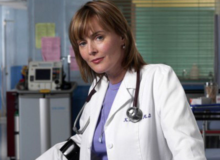 Laura Innes jako dr Kerry Weaver /Polsat