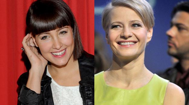 """Laura Samojłowicz (""""Hotel 52"""") oraz Małgorzata Kożuchowska (""""Prawo Agaty""""). /AKPA /Agencja W. Impact"""
