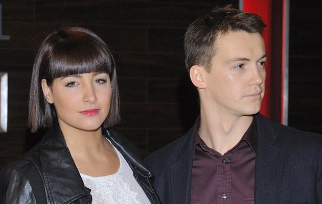 """Laura Samojłowicz, Krzysztof Kwiatkowski z """"Hotelu 52"""" /Jarosław Antoniak /MWMedia"""