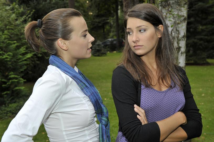 Laura Samojłowicz (po prawej) przed laty /Gałązka /AKPA
