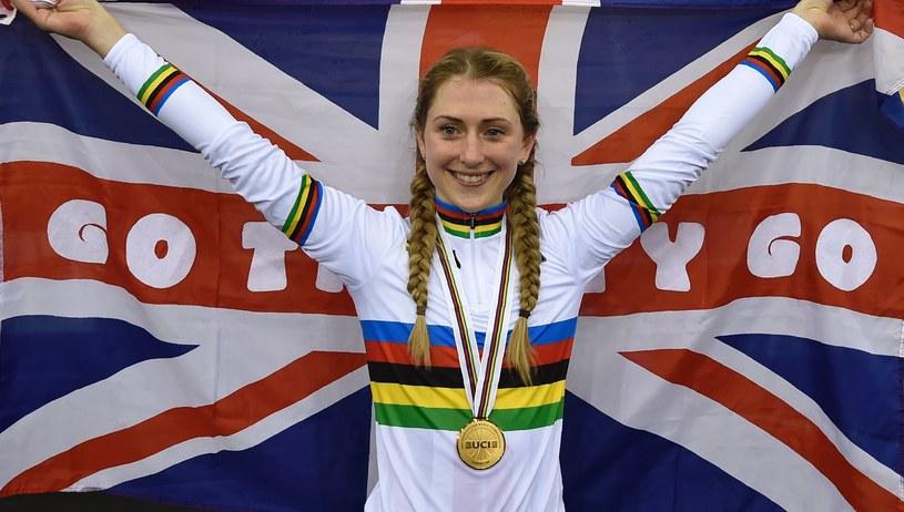 Laura Trott zdobyła złoty medal MŚ w omnium /AFP