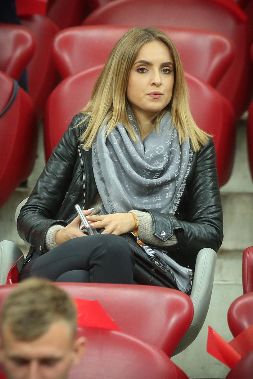 Laura Zielińska podczas meczu reprezentacji Polski /Kamil Piklikieiwcz /East News