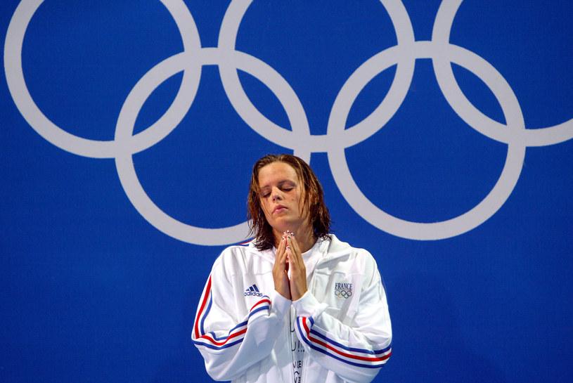 Laure Manaudou, słynna francuska pływaczka /AFP