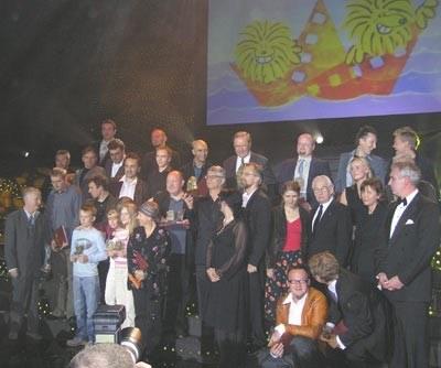 Laureaci festiwalu w Gdyni 2005 /INTERIA.PL