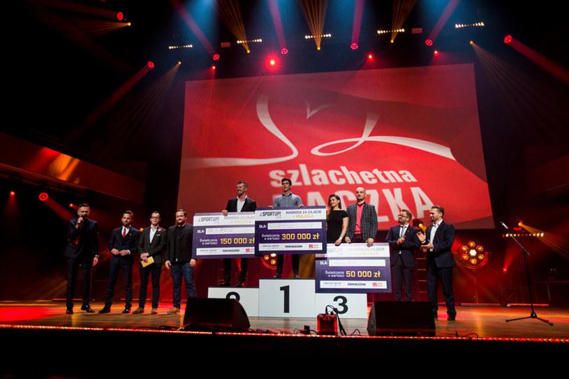 Laureaci konkursu Sportup 2018 /fot. Agnieszka Ożga-Woźnica /