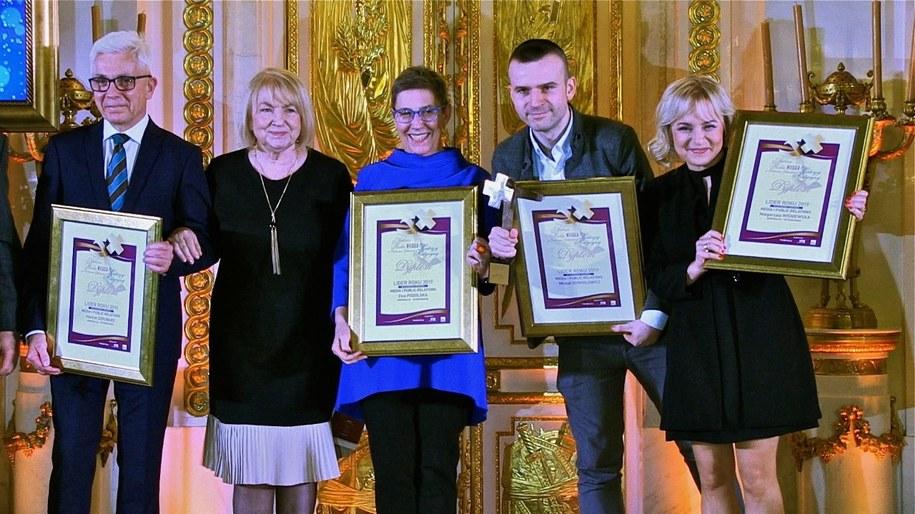 """Laureaci konkursu """"Sukces Roku w Ochronie Zdrowia"""" /Fot. Marek Misiurewicz /"""