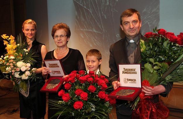 Laureaci Medali św. Jerzego, fot. Jacek Bednarczyk /PAP