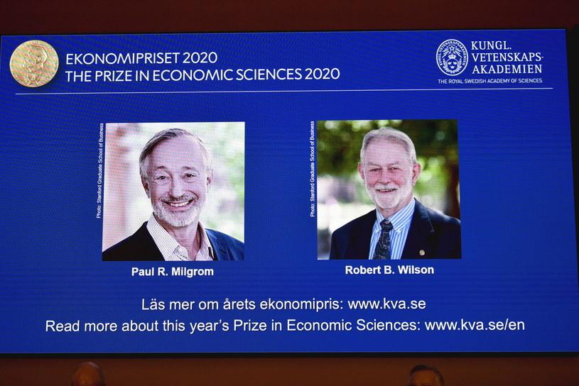 Laureaci Nagrody Nobla w dziedzinie ekonomii /ANDERS WIKLUND /PAP/EPA