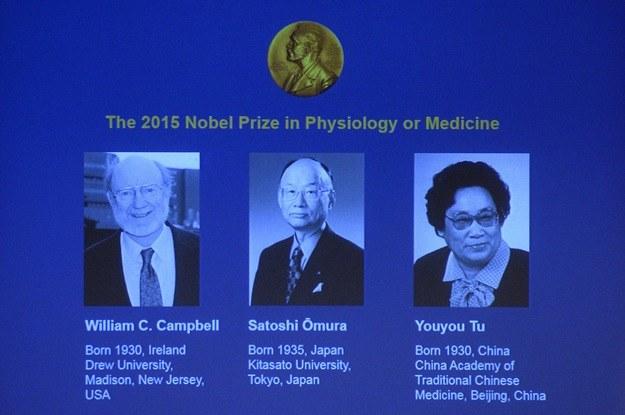Laureaci Nagrody Nobla w medycynie /AFP