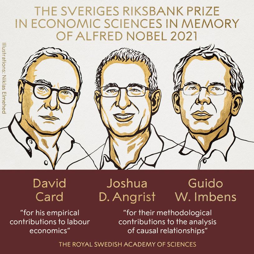 Laureaci Nagrody Nobla z ekonomii /Nobel Prize /materiały prasowe