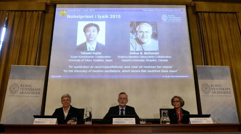 Laureaci Nagrody Nobla z fizyki /AFP