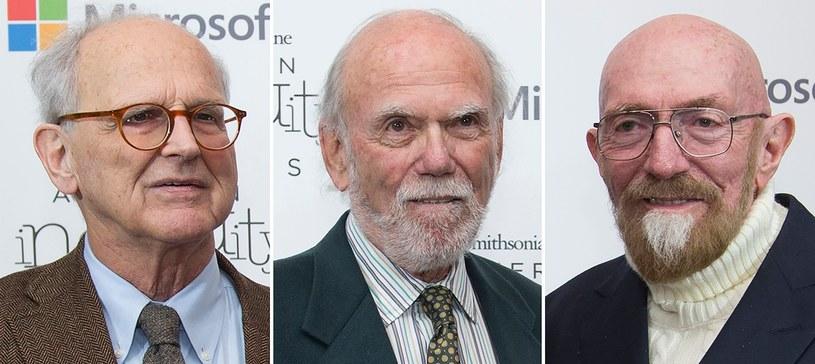 Laureaci tegorocznej Nagrody Nobla z dziedziny fizyki /AFP