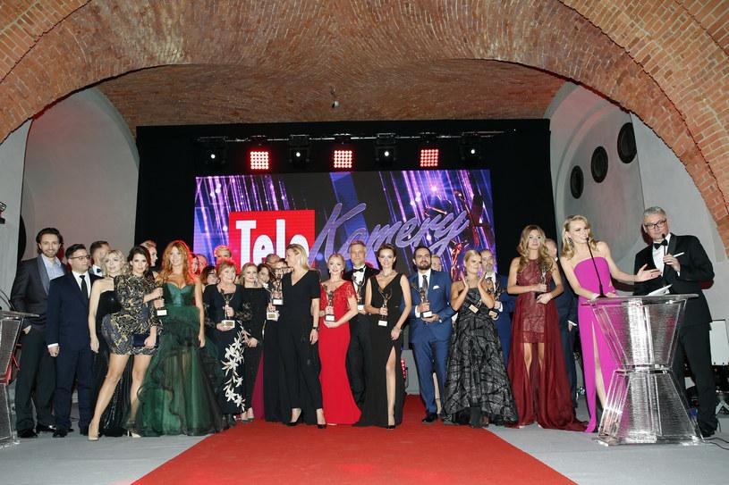 Laureaci Telekamer Tele Tygodnia 2017 /AKPA