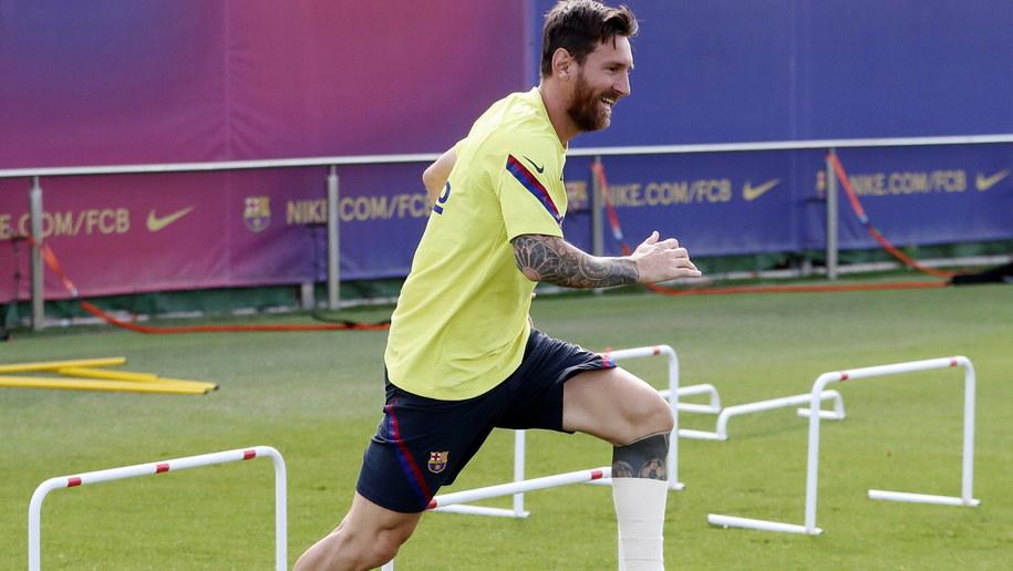 Laureat Złotej Piłki 2019 Lionel Messi /FC BARCELONA / HO /PAP/EPA